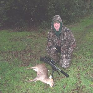 Richards first Muntjac well done mate.
