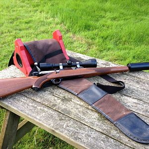 Ruger M77 MkII 243 on the bench